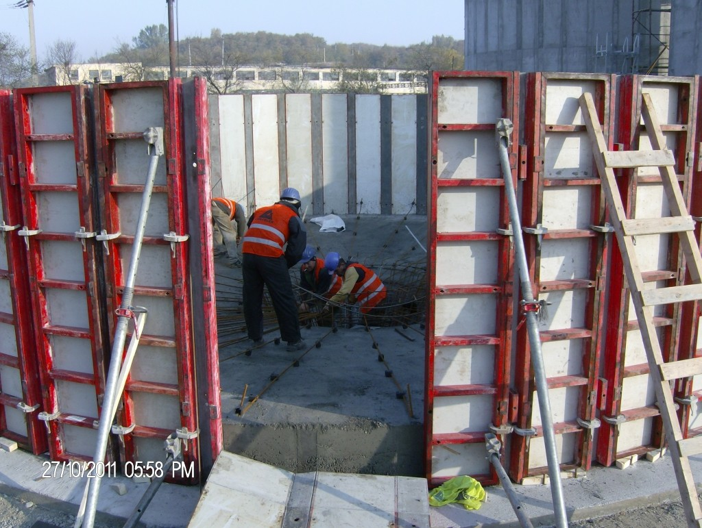 Constructii infrastructuri beton,suprastructuri beton si otel
